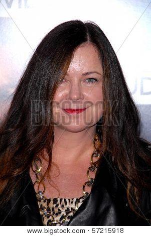 Jennifer Nicholson at the