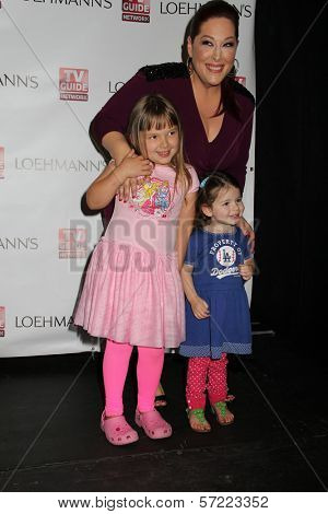 Carnie Wilson and her daughters Lola Sofia Bonfiglio and Luciana Bella Bonfiglio at the