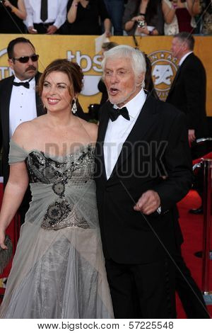 Dick Van Dyke at the 18th Annual Screen Actors Guild Awards Arrivals, Shrine Auditorium, Los Angeles, CA 01-29-12