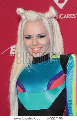 Kerli at the 2012 MusiCares Person Of The Year honoring Paul McCartney, Los Angeles Convention Center, Los Angeles, CA 02-10-12