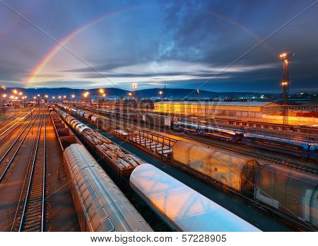 Train Freight Transportation Platform