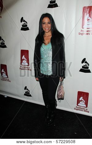 Sheila E. at the Producers & Engineers Wing Of The Recording Academy's 5th Annual GRAMMY Event, Village Recording Studios, Los Angeles, CA 02-08-12