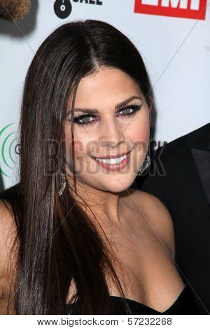Hillary Scott at the EMI Music 2012 Grammy Awards Party, Capital Records, Hollywood, CA 02-12-12