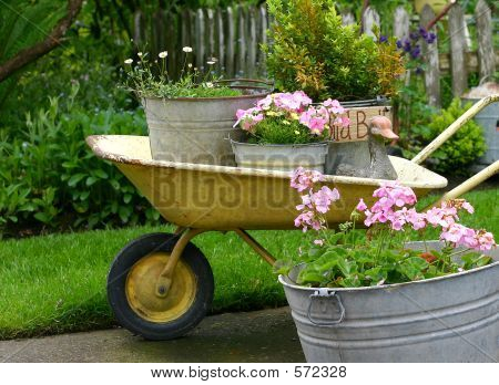 Mobile Flower Bed