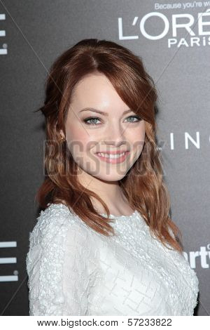 Emma Stone at the 5th Annual Essence Black Women In Hollywood Luncheon, Beverly Hills Hotel, Beverly Hills, CA 02-23-12