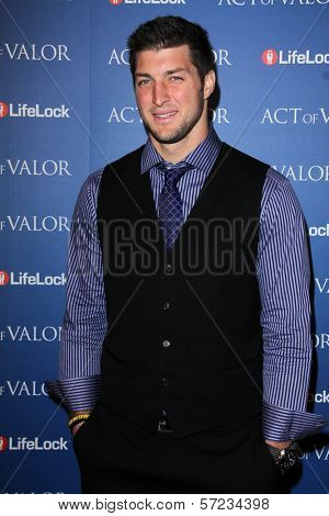 Tim Tebow at the