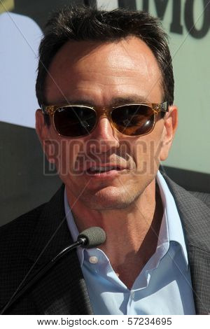 Hank Azaria at the Matt Groening Star on the Hollywood Walk of Fame Ceremony, Hollywood, CA 02-14-12