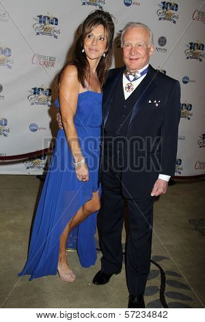 Buzz Aldrin at the 22nd Annual Night of 100 Stars Viewing Gala, Beverly Hills Hotel, Beverly Hills, CA 02-26-12