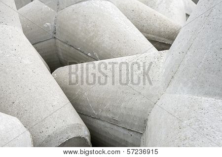 Concrete Breakwater Tetrapod In Details