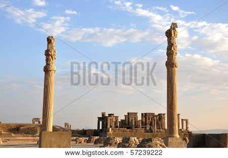 old city Persepolis, Iran
