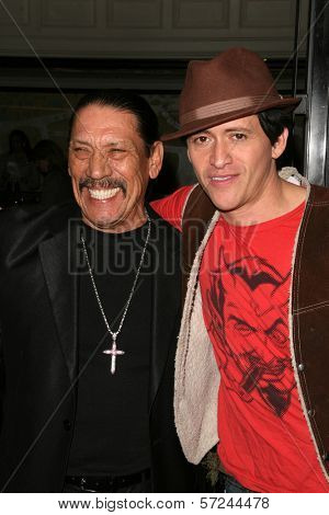 Danny Trejo and Clifton Collins Jr. at the World Premiere of