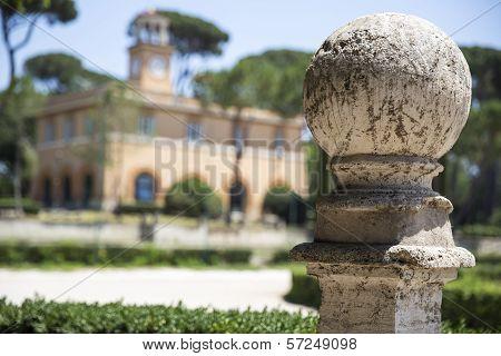 Piazza di Siena at Villa Borghese gardens
