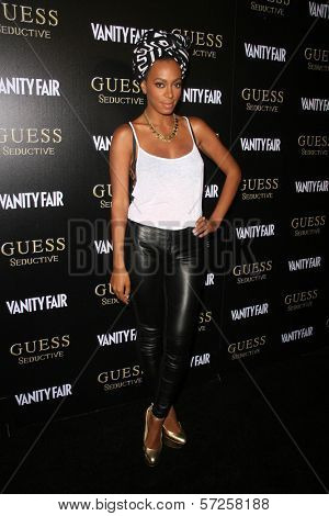 Solange Knowles at the Worldwide Launch of GUESS Seductive Fragrance, The Colony, Hollywood, CA. 09-29-10
