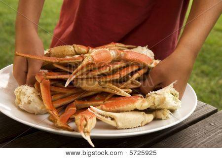 Serving Crab Legs