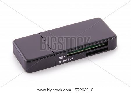 Black Card Reader (clipping Path)