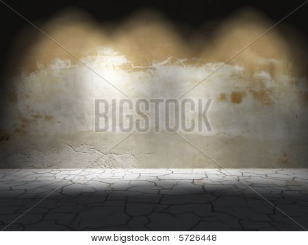Dark Room. Abstract Background