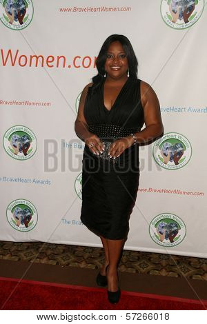 Sherri Shepherd at the 2010 BraveHeart Awards, Hyatt Regency Century Plaza Hotel, Century City, CA.  10-09-10