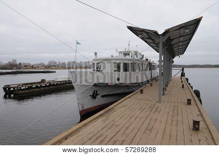 Pier In Ostashkov