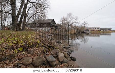 View Of Shore In Ostashkov