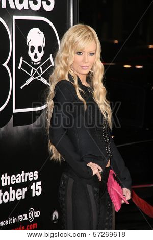 Jenna Jameson at the premiere of