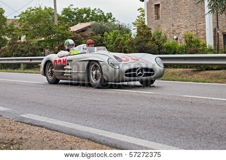 David Coulthard In Mille Miglia 2013
