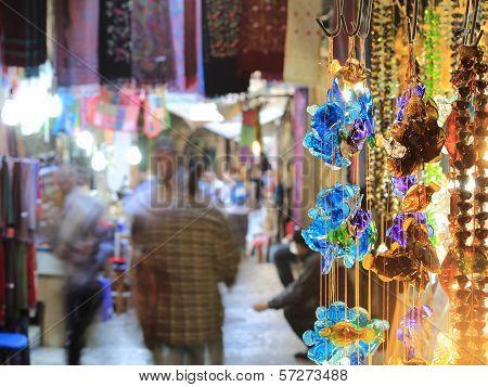 Market In Old Jerusalem