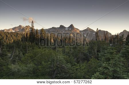 Tatoosh Range Pinnacle Castle Unicorn Boundary Plummers Peaks