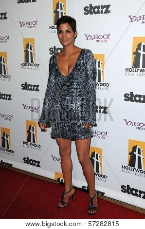 Halle Berry at the 14th Annual Hollywood Awards Gala, Beverly Hilton Hotel, Beverly Hills, CA. 10-25-10