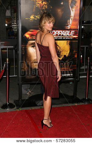 Zoe Bell at the