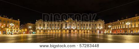 Place Du Capitole In Toulouse - France