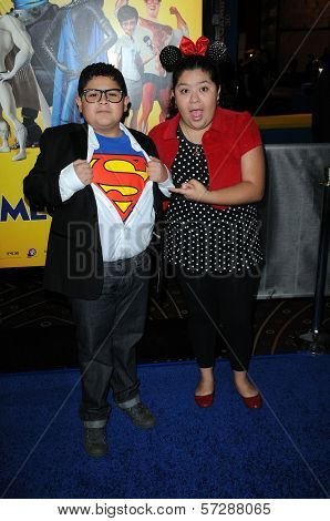 Rico Rodriguez and sister Raini Rodriguez at the