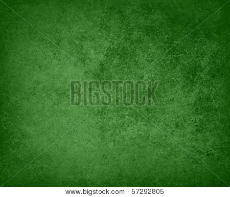 abstract solid green background with grunge texture, green Christmas color background or st patricks