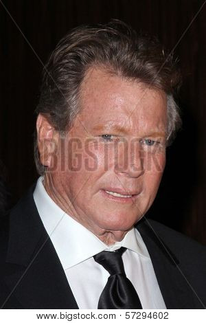 Ryan O'Neal at the John Wayne Cancer Institute Auxiliary's 27th Annual Odyssey Ball, Beverly Hilton, Beverly Hills, CA 04-21-12