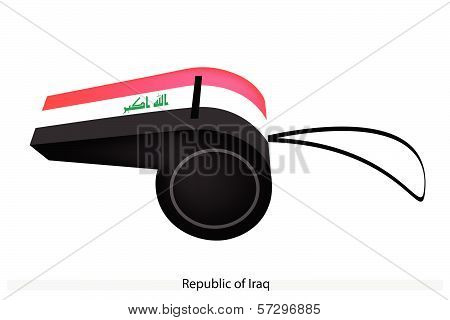 A Whistle Of The Republic Of Iraq