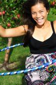 picture of hula dancer  - Hula hoop - JPG