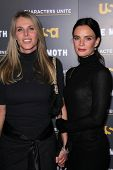 Catherine Oxenberg, Gabrielle Anwar at USA Network and Moth present