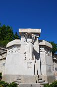 pic of avignon  - Ancient marble monument in the park Avignon town Provence France - JPG