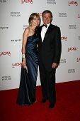 Willow Bay and husband Robert Iger at LACMA presents