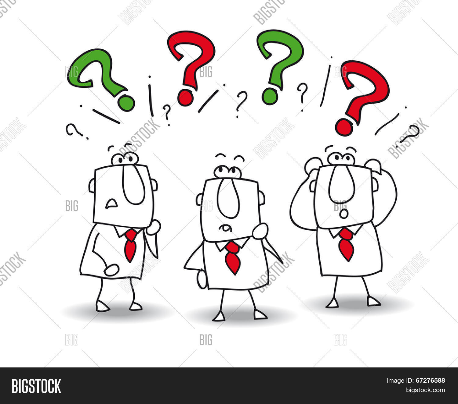 this teamwork have a problem they have questions stock vector this teamwork have a problem they have questions