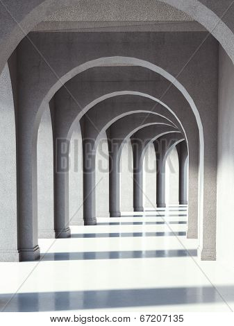 Concrete Archway