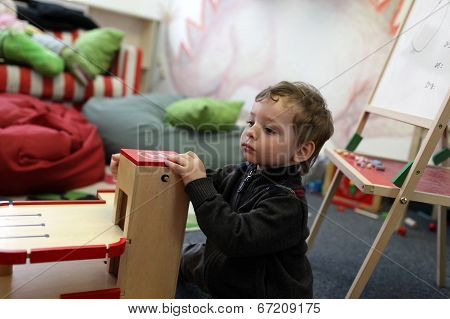 Child In Playroom