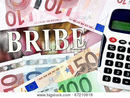 Bribe Word With Money