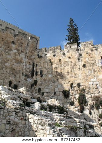 Part Of Western Wall