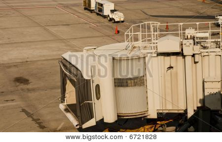 Jetway Over Tarmac