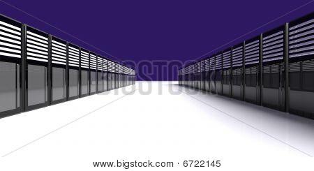 Sala do servidor