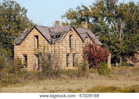 Abandoned Oklahoma Farmhouse