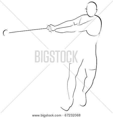 Hammer throwing