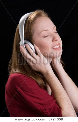 Woman With Headphones-10