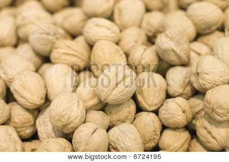 Scattering Of Nuts In A Supermarket