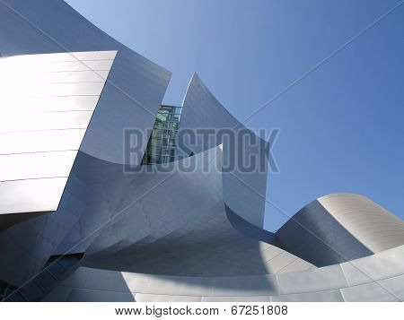 Los Angeles - September 12: Walt Disney Concert Hall In Los Angeles, Ca On September 12, 2011. .the
